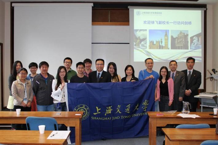 上海交通大学全英校友会热烈欢迎副校长徐飞赴英访问