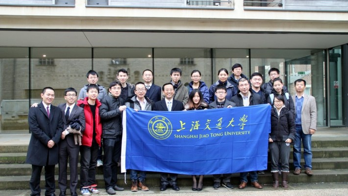 上海交通大学校长张杰率团访问牛津