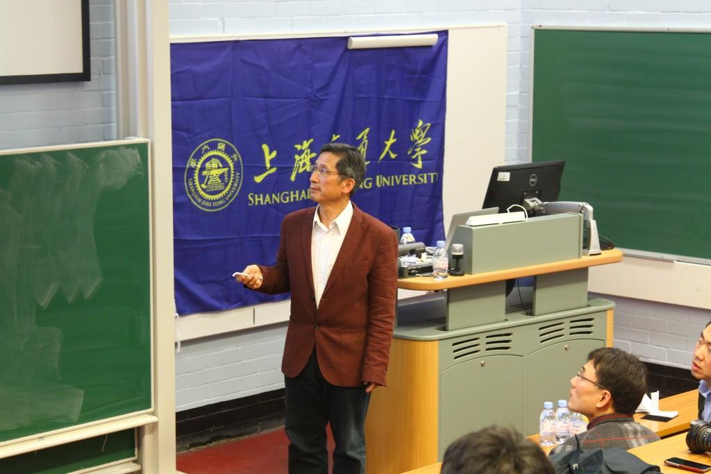 伦敦大学国王学院戴建生教授演讲