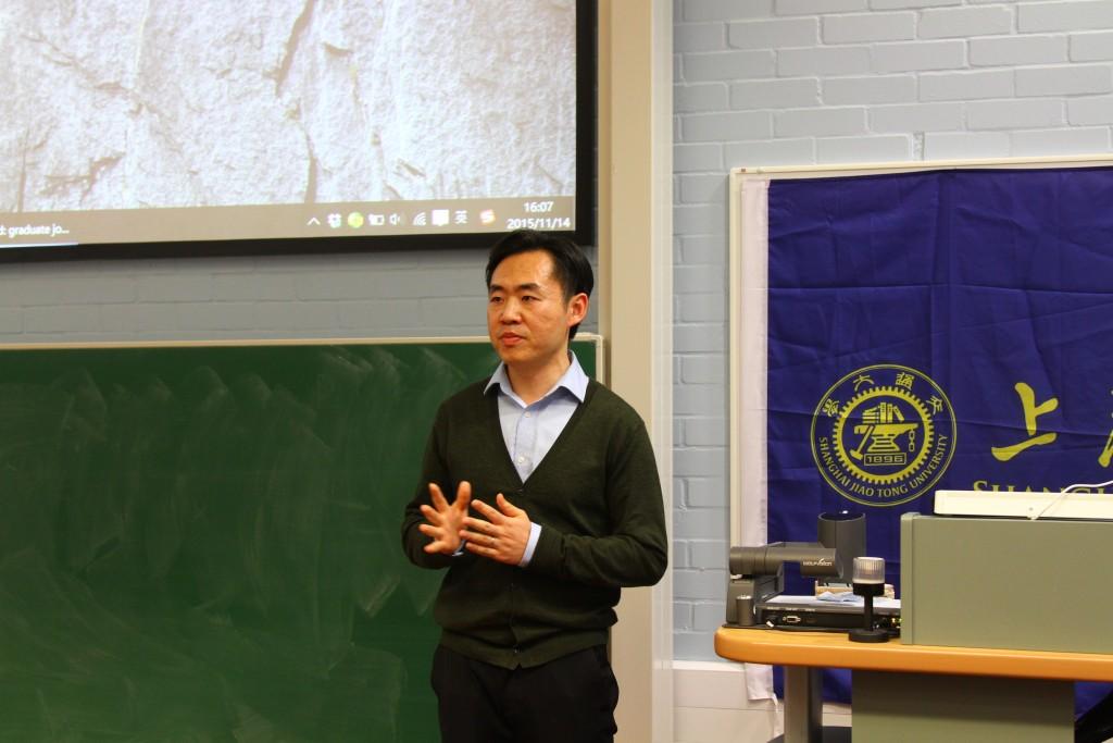 布里斯托大学工程系讲师姜政博士致辞
