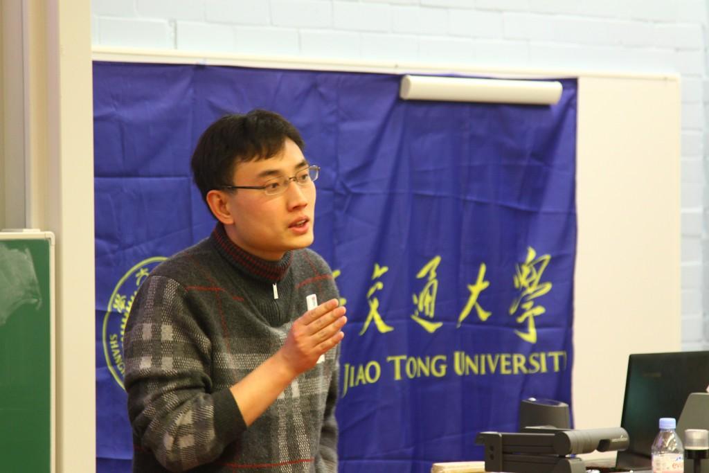 牛津资产管理公司李振海博士演讲